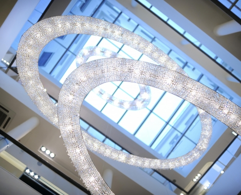 Looop Crystal Chandelier