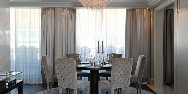 Cooperation with the Birgit Otte Interiors, Manooi Crystal Chandeliers